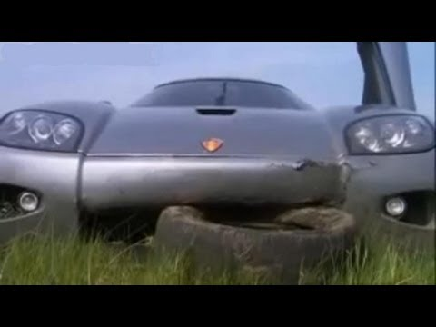 Top Gear - Jeremy Clarkson tests Koenigsegg CCX - BBC