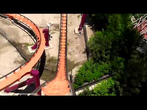 Raging Bull (HD POV) Six Flags Great America