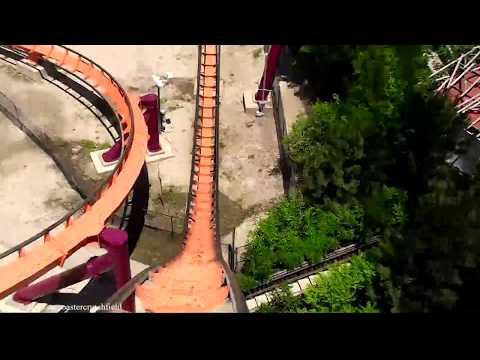 Raging Bull (HD POV) Six Flags Great America