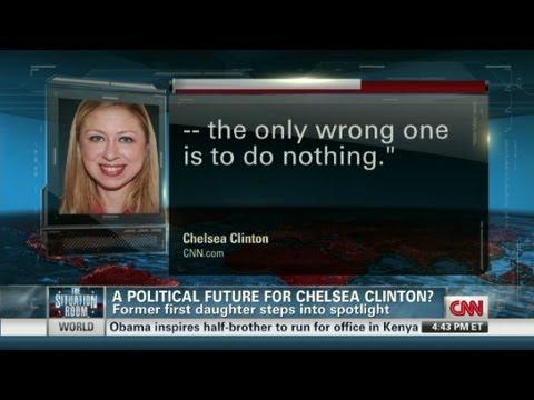 Political future for Chelsea Clinton?
