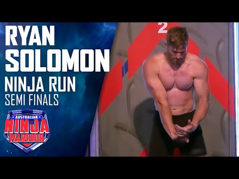 Semi-final Run: Ryan Solomon | Australian Ninja Warrior 2017