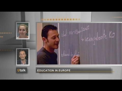 euronews U talk - La educación en Europa