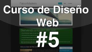 Curso de Diseño Web - 5. Estructura del documento en HTML5