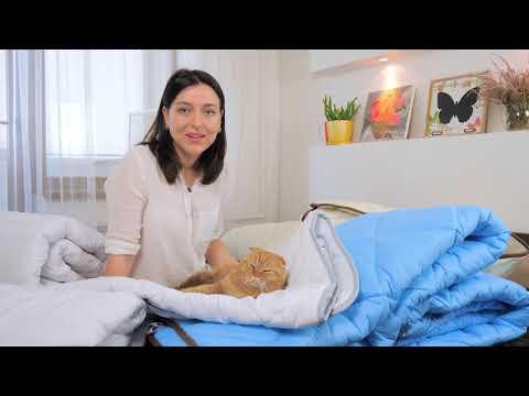 "Одеяло антиаллергенное Тенсель (Modal) Деми №0381 ""Carmela"""