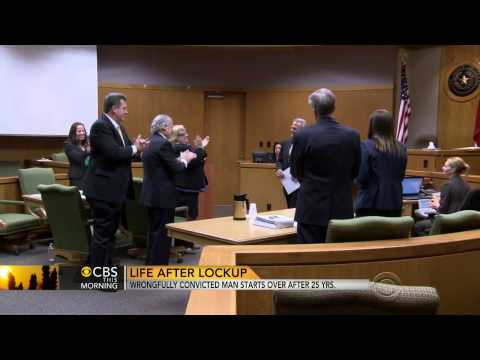 (Innocent) man rebuilds life after serving 25 years in prison  7/3/14