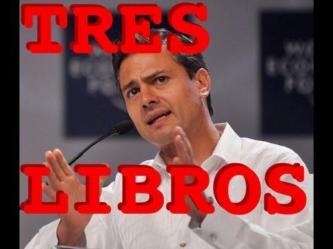 Los tres libros de Peña Nieto