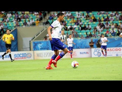Veja os gols de Bahia 2 x 2 Santos