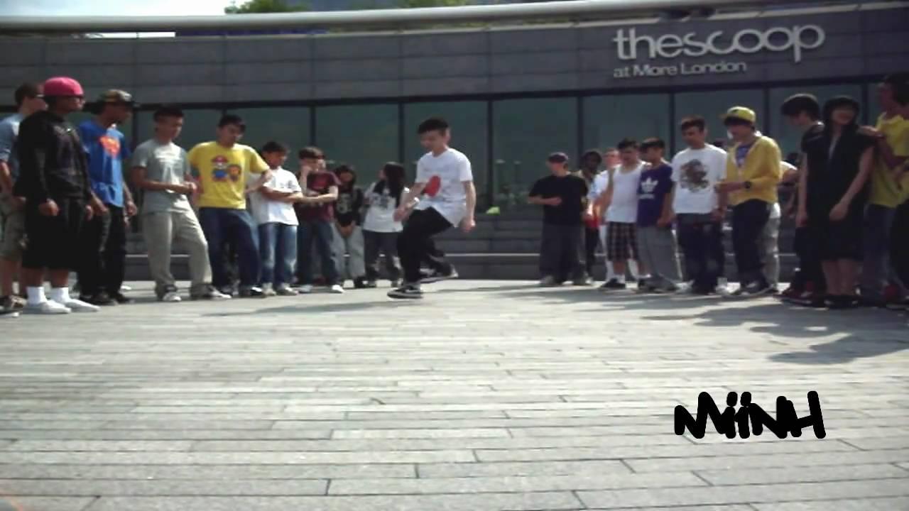Dance for Japan Easter C-Walk Meetup 2011 LONDON (Solos)