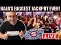 UNBELIEVABLE...RAJA SHATTERS HIS RECORD! 💥$100,000 💥BIGGEST JACKPOT HIT LIVE ON YOUTUBE!  💥