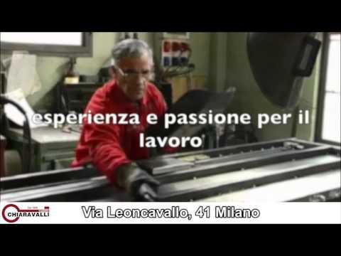 Fasi produttive Fabbro Chiaravalli - Blindate - cancelletti - persiane - Video - Chiaravalli dal 1908