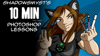 10 min or less Photoshop Tutorial: Preparing Comic Lineart for coloring