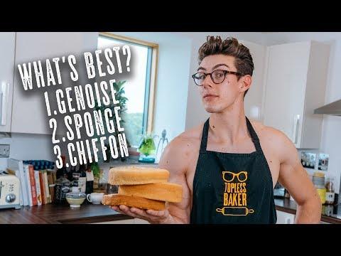 Cake 101 - Genoise vs Sponge vs Chiffon - What's The Best?!