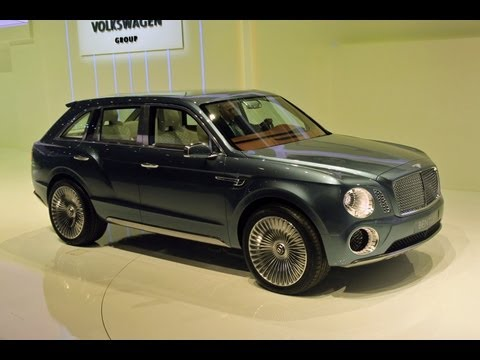 Bentley EXP 9 F Concept - 2012 Geneva Auto Show