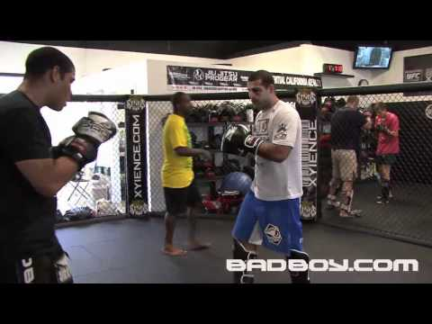 "Mauricio ""Shogun"" Rua Training for UFC 134 Rio"