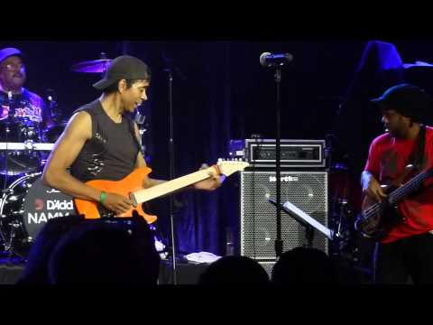 NAMM 2013 - Dennis Chambers, Greg Howe, and Victor Wooten