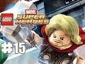 LEGO Marvel Superheroes - 100% Guide - Level 15 - The Good The Bad & The Hungry(HD Gameplay)