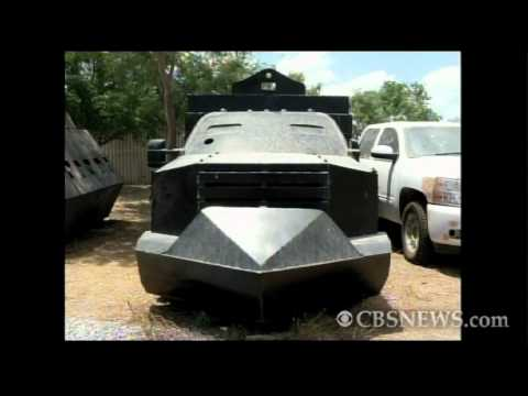 Narco tanks seized by Mexican troops