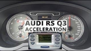 Audi RS Q3 2.5 TFSI 310 KM - acceleration 0-100 km/h