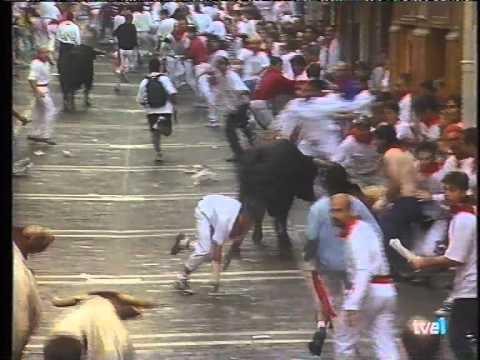 susto comienzos estafeta 9-7-1999