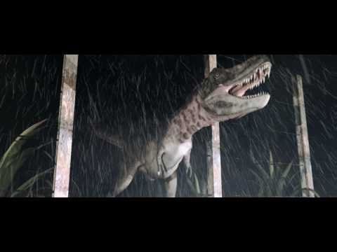 3D Dinosaur T-Rex Test Scene - CGI Jurassic Park Style Dino + Visual Effects Breakdown