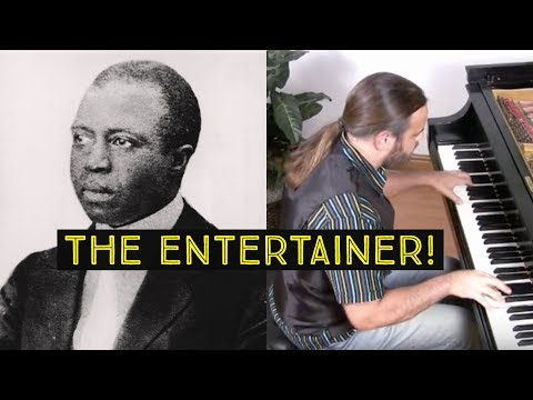 The Entertainer by Scott Joplin | performed by Cory Hall