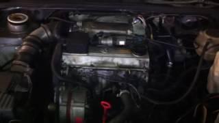 ДВС (Двигатель) Volkswagen Passat B3 Артикул 51040354 - Видео