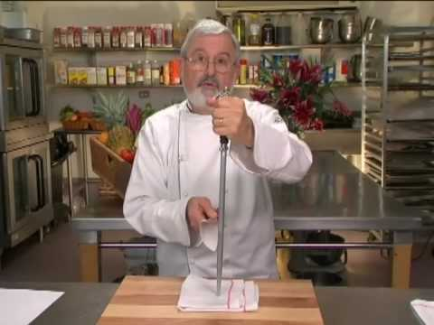 Honing Your Knife - Knife Skills With Norman Weinstein (1 of 9)