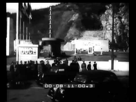 Le accoglienze di Genova ai coloni fascisti diretti in Africa.