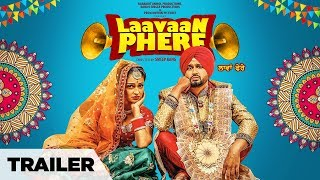 "Laavaan Phere Trailer Roshan Prince, Rubina Bajwa | ""Latest Punjabi Movie"" 2018 | Releasing 9 Feb"
