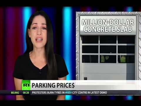 NYC now has million-dollar parking spaces  (Rich vs Poor)