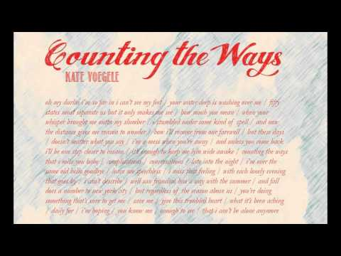 Counting The Ways - Kate Voegele NEW SONG FULL 2011(Gravity Happens Deluxe Edition) lyrics on screen
