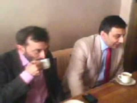 Dr Farooq Sattar Bhai & Raza Haroon Bhai On Pathan Tea Shop