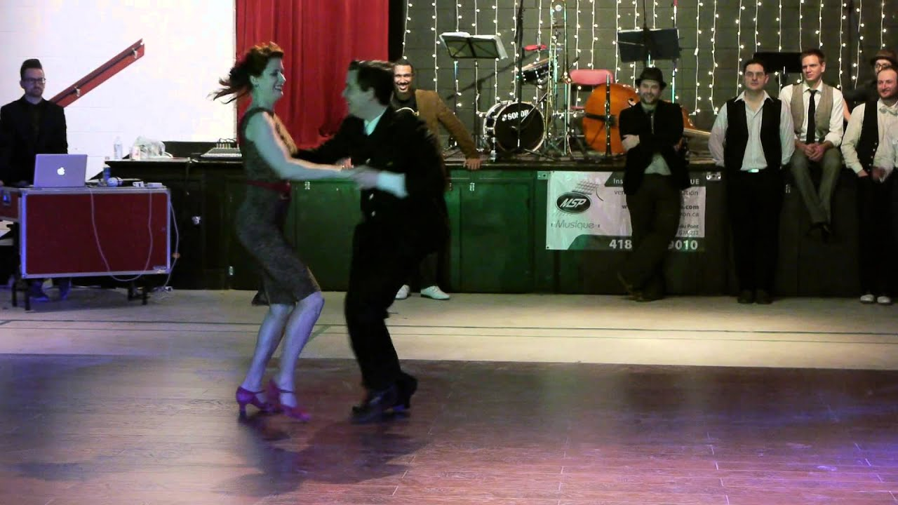 Swing-A-Dance 2013: Zack Richard et Annie Trudeau