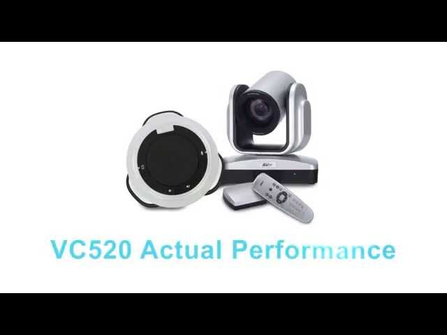 AVer VC520 Actual Performance