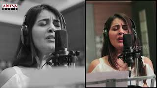 Raashi Khanna Singing Thariraa Song || Making Video || Balakrishnudu