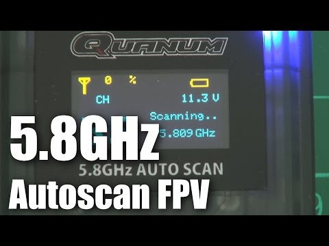 Quanum 5.8GHz autoscan FPV video receiver (part 1) - UCahqHsTaADV8MMmj2D5i1Vw
