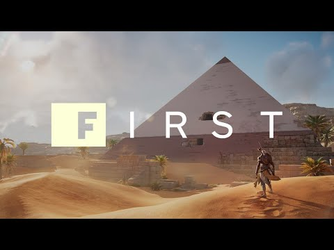 Assassin's Creed Origins: 18 Minutes of New Mission Gameplay (Xbox One X in 4K) - IGN First - UCKy1dAqELo0zrOtPkf0eTMw