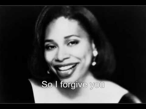 Rachelle Ferrell: I Forgive You [Music & Lyrics]
