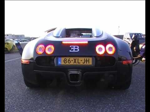 Bugatti Veyron EB16.4 engine sound!!