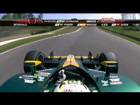 Part 5 of 15 - Indycar 2011 Round 2 Barber race