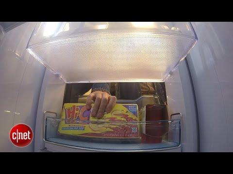 In-door access with Samsung's $3,000 Food Showcase fridge