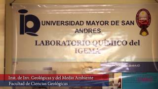 UMSA - Facultad de Ciencias Geológicas