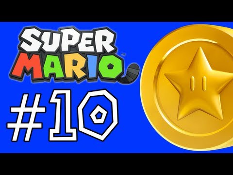 Super Mario 3D Land Walkthrough: Star Coins - World 2-1, 2-2, 2-3, 2-4, and The Airship (Part 10)