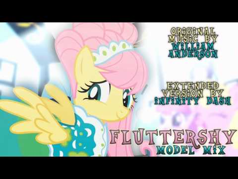 MLP:FiM BGM - Fluttershy's Modeling Music ( Extended Version / Remix )