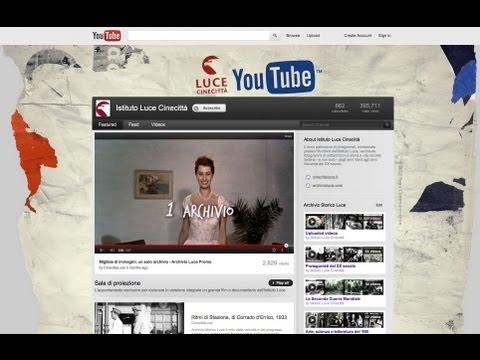 L'archivio storico dell'Istituto Luce si apre al mondo su YouTube