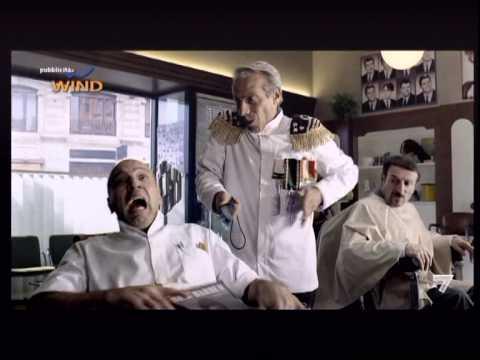 Wind nuovo spot 2011 - Aldo e Giovanni parrucchieri