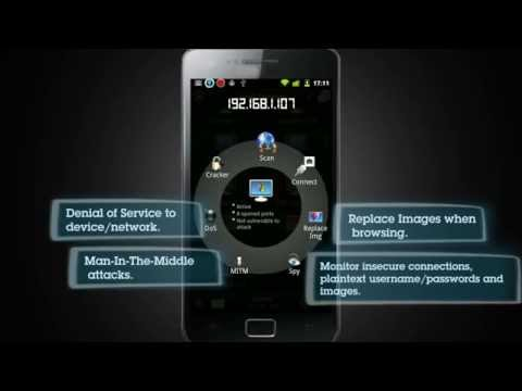 Anti - Android Network Toolkit Capabilities Video/Demo by ZImperium LTD
