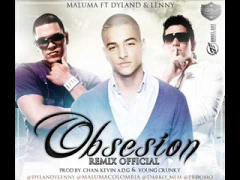 Obsesion - Maluma Ft Dylan & Lenny (Official Remix) New Estreno 2012