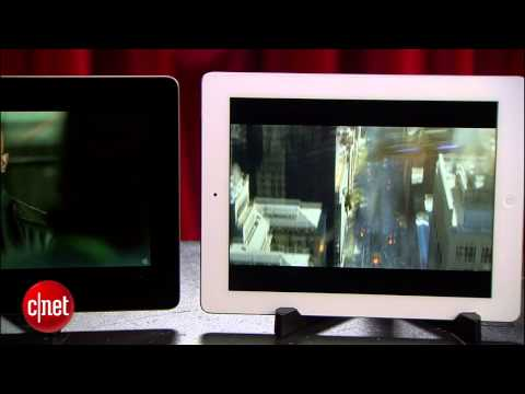 Asus Transformer Prime vs. Apple's New iPad