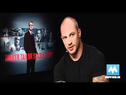 Tom Hardy - Star of The Dark Knight Rises, Inception, Tinker Tailor Soldier Spy &amp; Warrior